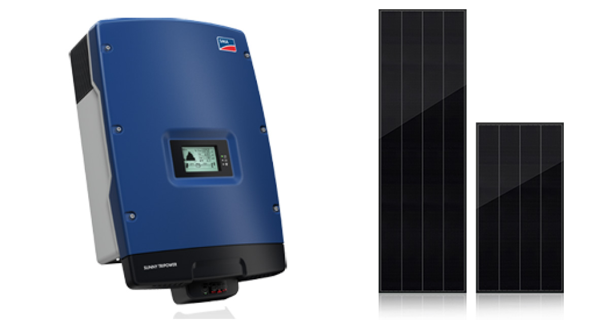 SMA Inverter 9000TL with Best Solar Panel