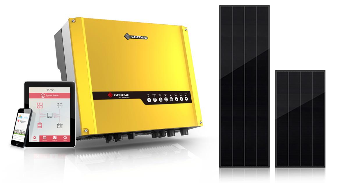GoodWe Inverter with Best Solar Panel