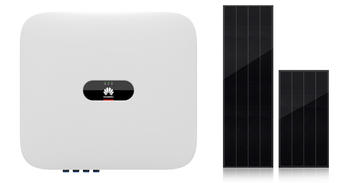 Huawei SUN2000 with Best Solar Panel