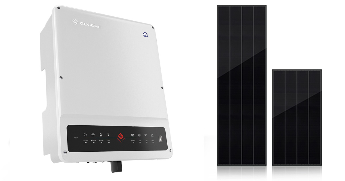 GoodWe Inverter 3 Phases with Best Solar Panel